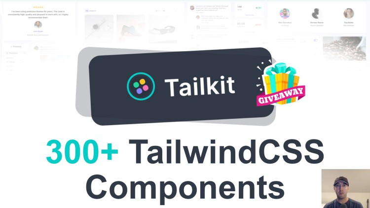 Reviewing Tailkit (300+ Tailwind Components) and Giving Away 2 Copies